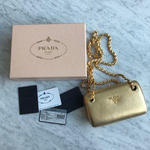 Prada Mini Bag with Shoulder Chain